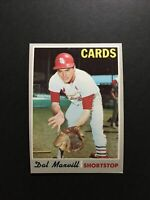 1970 Topps Set Break #503 Dal Maxvill NR-MINT Condition From Vending