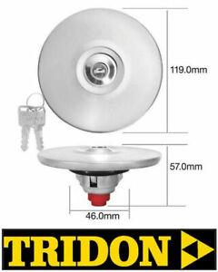 TRIDON LOCKING CHROME FUEL CAP FORD XE XF XG XH FALCON SEDAN / UTE / VAN TFL220