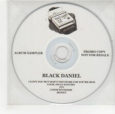 (GG507) Black Daniel, I Love You But Don't Touch Me Cos You're Sick - DJ CD