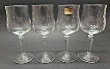 Vintage 4 oz. Luminarc France Sherry Port Aperitif Swirl Glasses - Set of 4