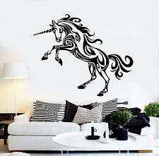 Wall Stickers Vinyl Unicorn Mythology Fairytale The Coolest Decor z1537