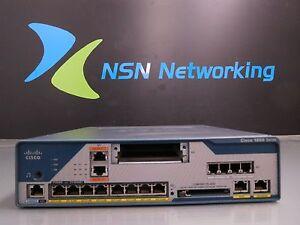 Cisco 1861 C1861-UC-2BRI-K9 V02 Integrated Services Router NO FLASH