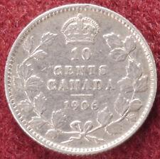 Canada 10 Cents 1906 (E0102)