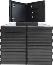 (50) Black DS Nintendo Replacement Boxes Cases Empty 14MM Video Game #VGBR14DSBK