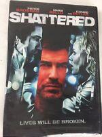 Shattered DVD 2007 Pierce Brosnan Maria Bello Lives Will Be Broken New Sealed