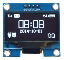 """1.3"""" 1.3in White OLED Display Module IIC Interface 128x64 3-5V SSH1106"""