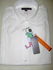 TIPO'S Camicia Uomo Slim Fit cotone Stretch colore BIANCA (100% made in Italy)