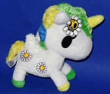 "Tokidoki Margherita the White Daisey Unicorn 8"" Plush"