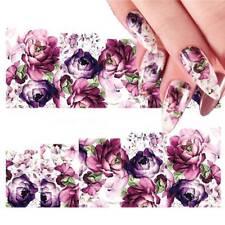 Fashion Women Flower Nail Art Sticker Bridal Weeding Accessories Manicure Decals