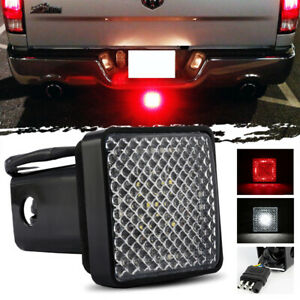 """LED Towing Hitch Cover Light Running/Brake/Reverse for Truck/SUV w/ 2"""" Receiver"""