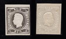 1866 Portugal D. Luis I 5 reis #19. MNH. Original Gum. W/ CERTIFICATE.