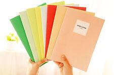 3x Planificador Agenda Libre Notebook Cuaderno de Viaje Notas Recuerdos 4366