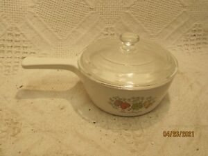 Corning Ware Spice of Life Sauce Pan P 89 B With Lid