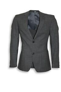 rover & lakes Sakko S Joe Grey Modern Fit Size 48