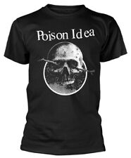 Poison Idea 'Skull Logo' (Black) T-Shirt - NEW & OFFICIAL!