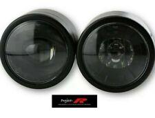 Honda Hornet CB 600 900 CBX NTV 650 750 1000 LED TWIN BLACK HEADLIGHT HEAD LIGHT