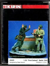 "KIRIN SCALE MODEL 25020 - ""FINAL DEFEAT"" BERLIN 1945 - 1/35 RESIN KIT"