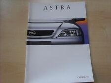 52846) Opel Astra Prospekt 03/1998