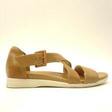 Naturalizer Womens Sz 7.5 Elliott Barley Leather Casual Comfort Sandals Shoes