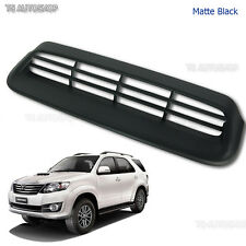 Matte Black Vent Hood Scoop Cover Fit Toyota Fortuner Suv 2Wd 4Wd 2012 2013 2014