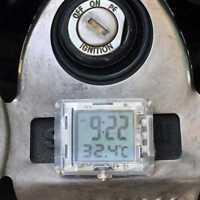 Motorrad Uhr für Honda für Bike Elektroauto mit Temperatur Neu 2017