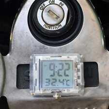 Reloj de Moto Reloj Para Honda para bicicletas coche eléctrico con Temperatura: