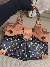 Authentic Louis Vuitton Ursula Black Multicolor Bag