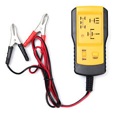 12V Electronic Automotive Car Auto Battery checker Relay Tester