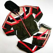 Reason Brand mens 100%AUTHENTIC 2p set L/S hoodie & pants size Medium multicolor