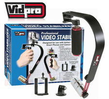 Vidpro Video STABILIZER SYSTEM and SmartPhone Holder and GoPro Mount Included