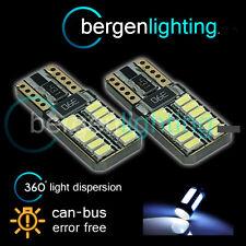 2 x W5W T10 501 CANBUS SANS ERREUR BLANC 24 SMD LED intérieur ampoules il103801