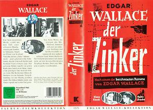 (VHS) Edgar Wallace - Der Zinker - Heinz Drache, Günter Pfitzmann, Eddi Arent