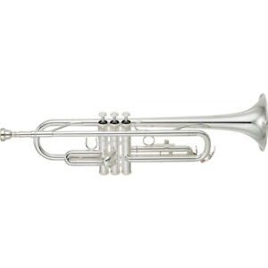 Brand New YAMAHA Trumpet - YTR 2330S in SILVER PLATE - SHIPS FREE WORLDWIDE