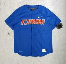 Men's Nike Florida Gators Vapor Elite Performance Full Button Baseball Jersey