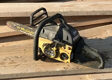 Vintage McCULLOCH MS42 Chainsaw for parts/repair with Chain & Bar