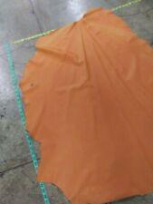 Italian Leather Thin Lambskin leather Orange 11 Sq.Ft.#2840