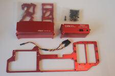 Area dual steering servo radio tray rack for Losi DBXL XL 1/5 rc 0236 servo red