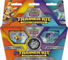 Pokemon TCG XY Trainer Kit: Pikachu Libre & Suicune : 2x 30-card decks + Playmat