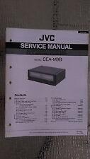 JVC sea-m9b service manual original repair book stereo graphic eq NEW PICS