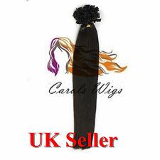 "22"" 1g 8A* Russian Remy Double Drawn Italian Keratin U-Tip Human Hair Extensions"