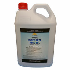 5L, Isopropyl Alcohol,Isopropanol 100%,Rubbing Alcohol,IPA, PICK UP ONLY