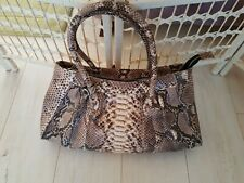 Stunning Real Python Snake Skin Leather Hand Bag , Immaculate!