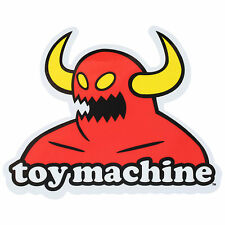 TOY MACHINE STICKER Toy Machine Old School Skate 5.25 in x 4.25 in Monster Decal