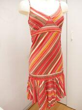 EDC BY ESPRIT robe été seventies à rayures rouge et multicolore XXL 48/50