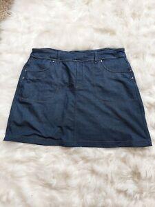 Women's Athleta Navy Blue Skort/Skirt Size L