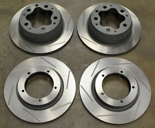 Porsche 356 Front & Rear Slotted Brake Rotors / Discs (Complete Set of 4)