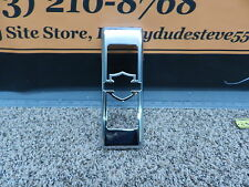 Harley Davidson Sportster Dyna Softail Chrome Side Mount  Oil Cooler Cover