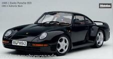 1986 PORSCHE 959 BLACK 1:18 by MOTORBOX EXOTO BRAND NEW IN BOX VERY RARE RELEASE