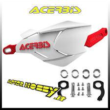 Paramano chiuso X-factory Bianco/rosso Acerbis Moto