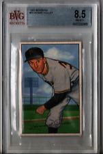 1952 Bowman Howie Pollet #83 BVG Beckett 8.5 P563